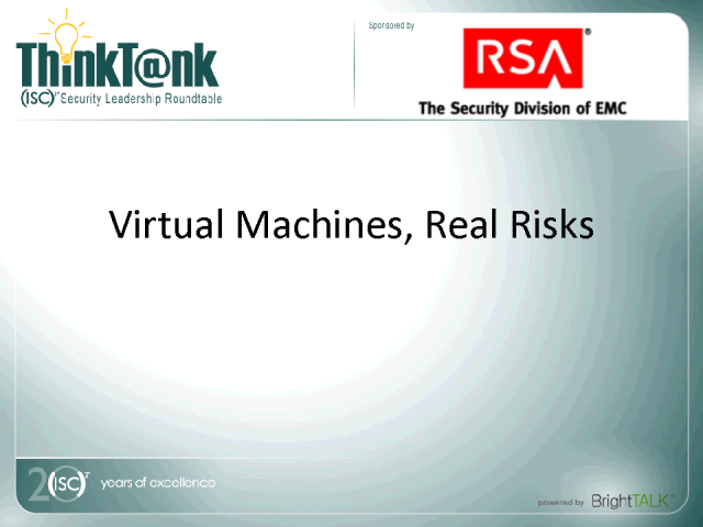 Virtual Machines, Real Risks