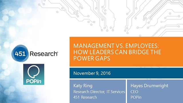 Management Vs. Employees: How Leaders Can Bridge the Power Gaps