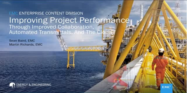Improving Project Performance Webcast | Dell EMC