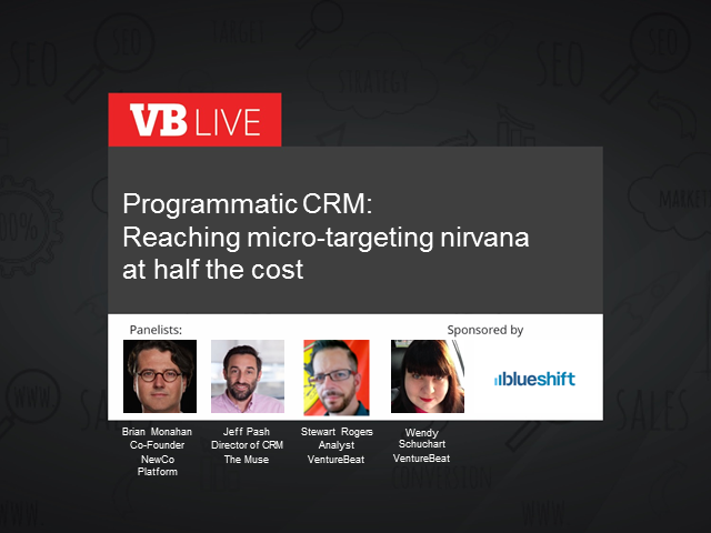Programmatic CRM: Reach micro-targeting nirvana at half the cost