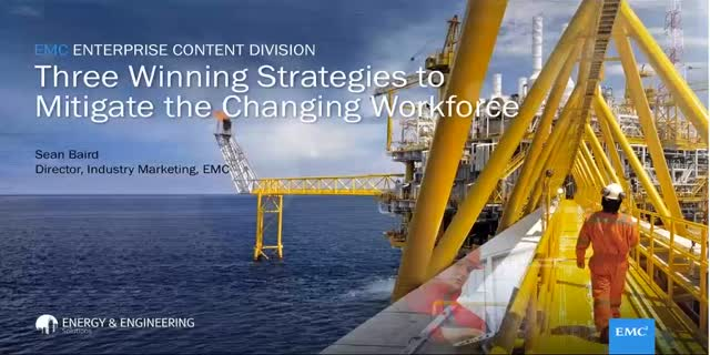 Winning Strategies to Mitigate the Changing Workforce Webcast | Dell EMC