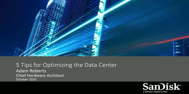 Five Tips For Building a More Efficient Data Center