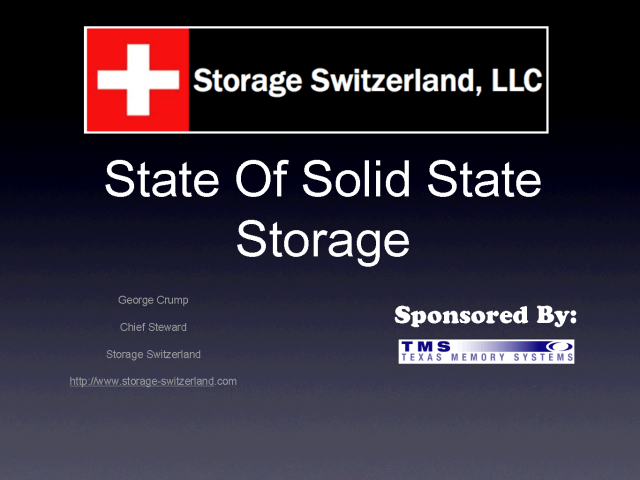 The State of Solid State 2010