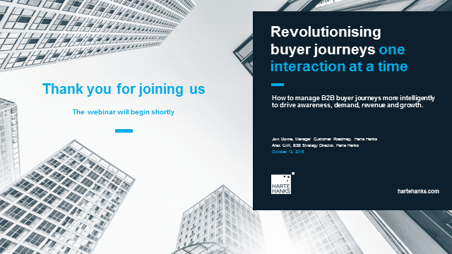 Revolutionising buyer journeys, one interaction at a time