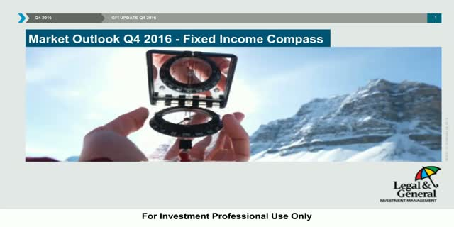 Fixed Income Compass - Quarterly update - Q4 2016