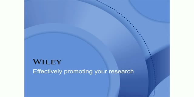Effectively Promoting Your Research
