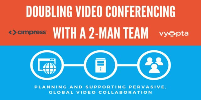 How a Two-Man IT Team Can Double Video Conferencing