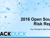 2016 Open Source Risk Report – Key Findings for M&A Professionals