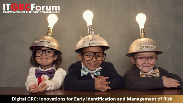 Digital GRC: Innovations for Early Identification and Management of Risk