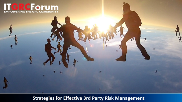 Strategies for Effective 3rd Party Risk Management
