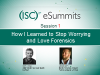 eSummit 1 - How I learned to stop worrying and love forensics