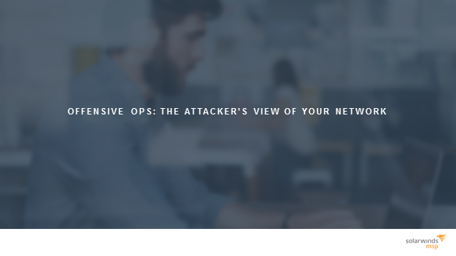 Bypassing your layered defence: the attacker's view of your network