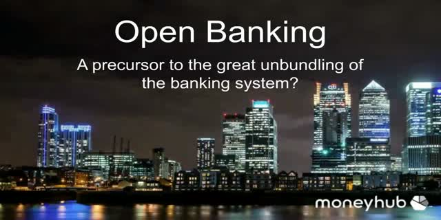 Open banking.... it's banking but not as we know it