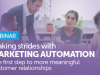 Making Strides with Marketing Automation