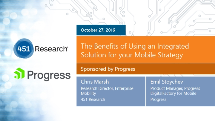 Mobile Strategy: The Benefits of Using an Integrated Solution