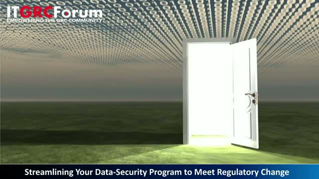 Streamlining Your Data-Security Program to Meet Regulatory Change