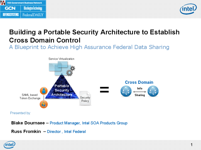 Portable Security Architecture to Establish Cross-Domain