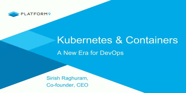 Kubernetes & Open Source Containers: A New Era for DevOps