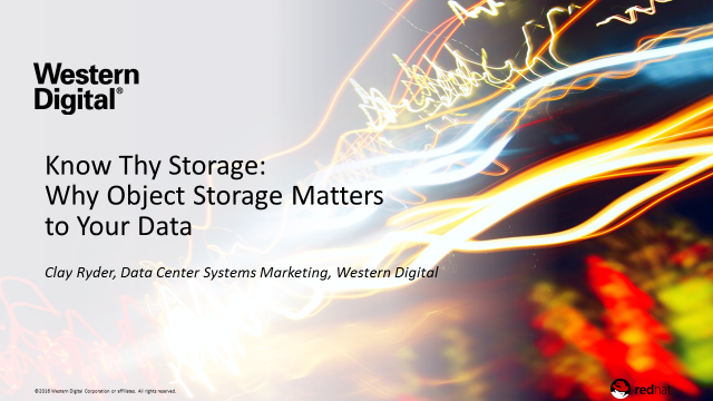 Know Thy Storage: Why Object Storage Matters to Your Data