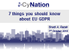 7 Things You Didn't Know About GDPR But Were Afraid To Ask