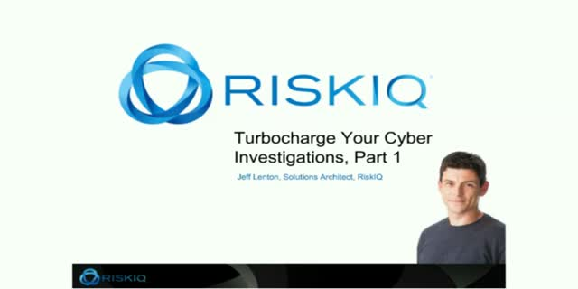 Turbocharge your Cyber Investigations, Part 1