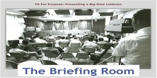 Fit for Purpose: Preventing a Big Data Letdown