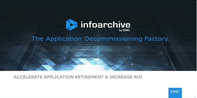 Improve compliance by establishing an application decommissioning factory