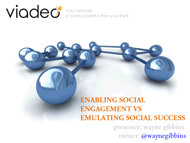 Enabling Social Engagement vs Emulating Social Success