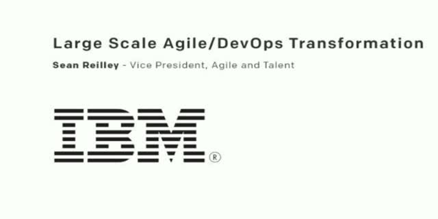 Large Scale Agile/DevOps Transformation