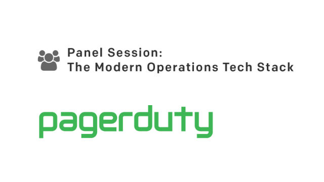 Panel Session: The Modern Operations Tech Stack