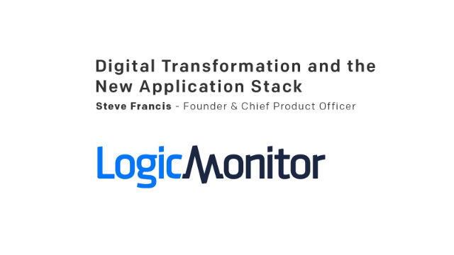 Digital Transformation and the New Application Stack