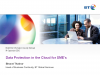 Data Protection in the Cloud for SMEs'