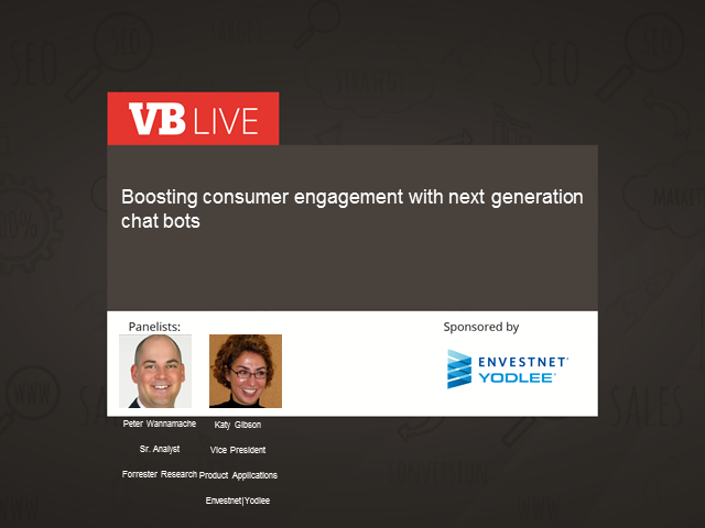Boosting consumer engagement with next gen chat bots