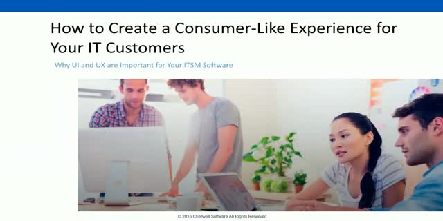 Creating a Consumer-Like Experience for Your Customers