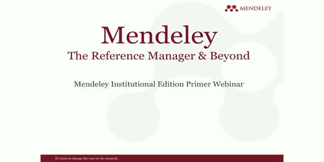 How librarians use Mendeley to overcome research challenges