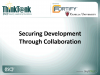 Securing Development Through Collaboration