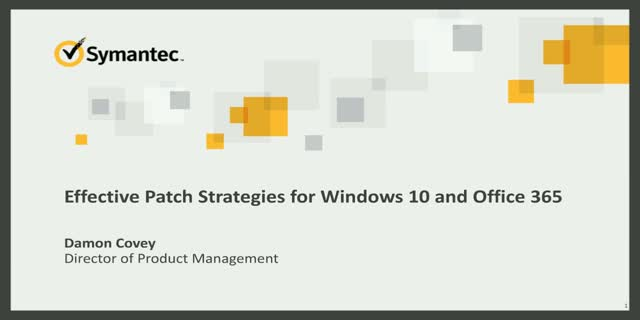 Effective Patch Strategies for Windows 10 and Office 365