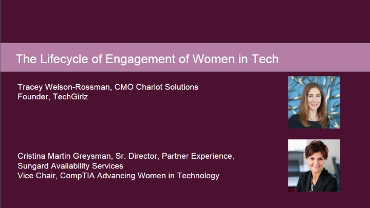 The LifeCycle of Engagement of Girls and Women in Tech
