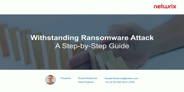 Withstanding a Ransomware Attack: A Step-by-Step Guide