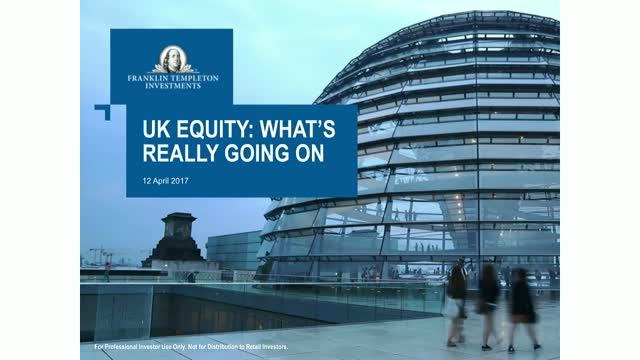 UK Equity – What's really going on