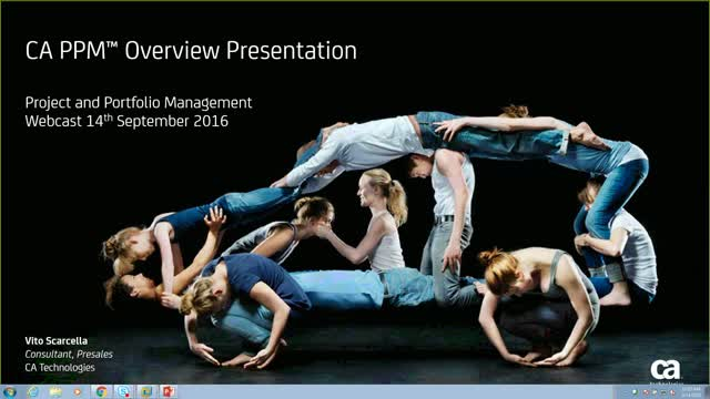 Project & Portfolio Management Demonstration