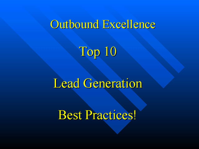 Top 10 Lead Generation Best Practices