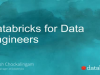Databricks for Data Engineers