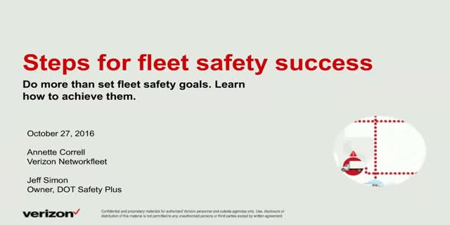 Steps For Fleet Safety Success