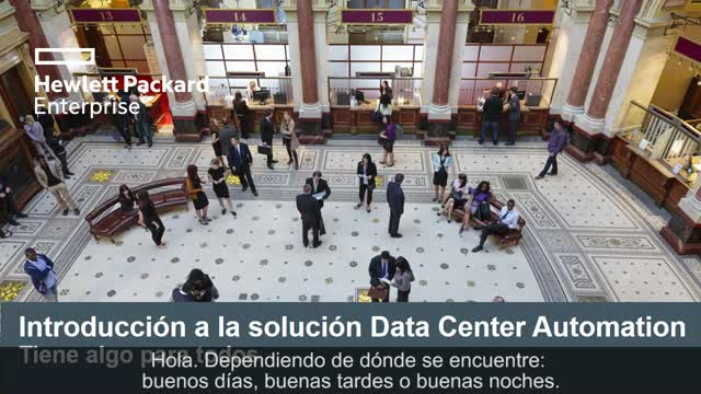 Solución HPE Data Center Automation. Beneficios para todos.