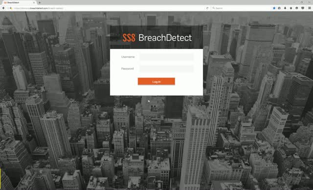 Introduction to the SS8 BreachDetect UI