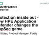 Protection inside out - how HPE Application Defender changes the AppSec game
