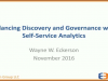 Balancing Data Discovery and Governance with Self-Service Analytics