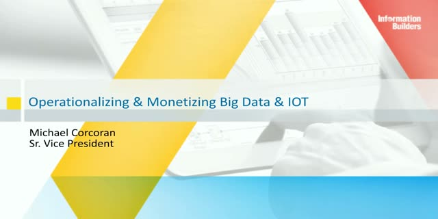 Operational and Monetization Use Cases for Data and Analytics