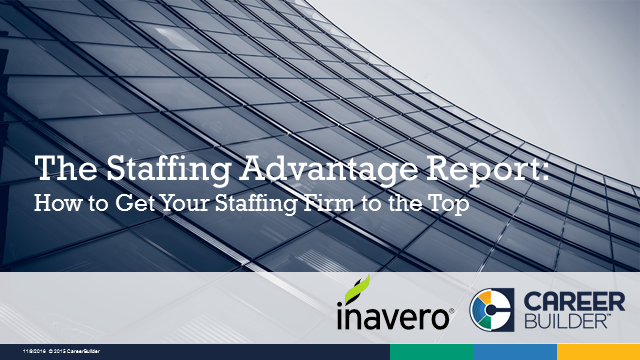The Staffing Advantage Report: How to Get Your Staffing Firm to the Top